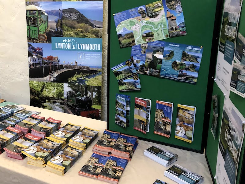 Visit Exmoor 2020 Networking Event - VL&L Display Stand